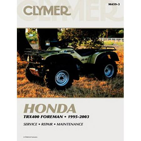 Clymer Service Manual 95 98 Trx400