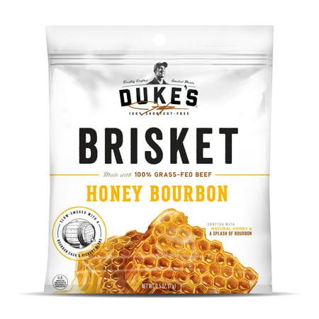 - Duke's Honey Bourbon Beef Brisket Strips, 2.5 Oz