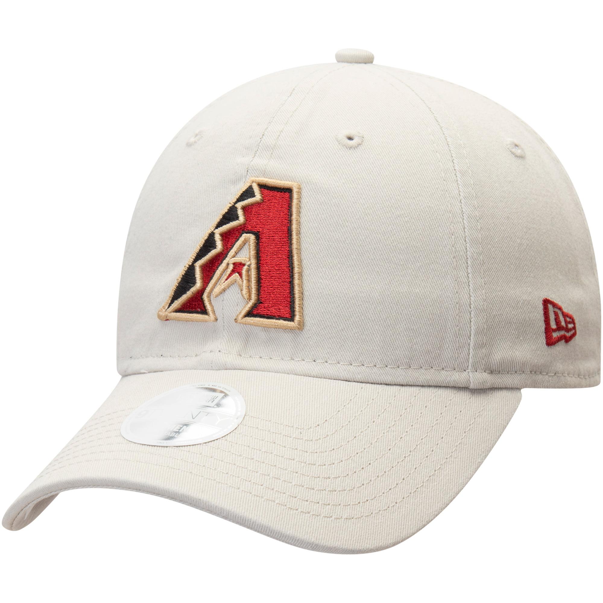 Arizona Diamondbacks New Era Women's Core Classic Twill 9TWENTY Adjustable Hat - Cream - OSFA