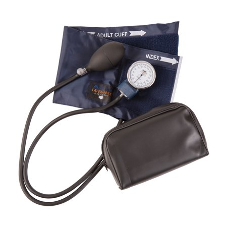 Mabis 09-141-015 Precision Latex Free Aneroid Sphygmomanometer - Blue Nylon Cuff Child