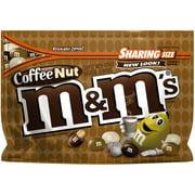M & M's Coffee Nut Peanut Chocolate Candies, 9.6 oz