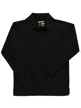 Universal Unisex L/S Pique Polo (Sizes 8 - 20)