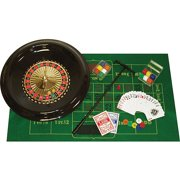 "Trademark Poker 16"" Deluxe Roulette Set with Accessories"