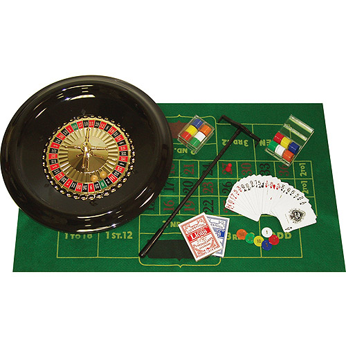 """Trademark Poker 16"""" Deluxe Roulette Set with Accessories"""