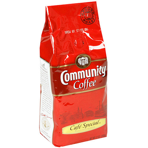 Community Coffee Cafe Special Medium-Dark Roast Ground Coffee, 12 oz (Pack of 6)