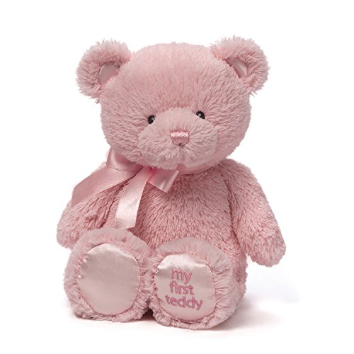Gund My First Teddy Bear Baby Stuffed Animal, 10 inches by Gund Baby