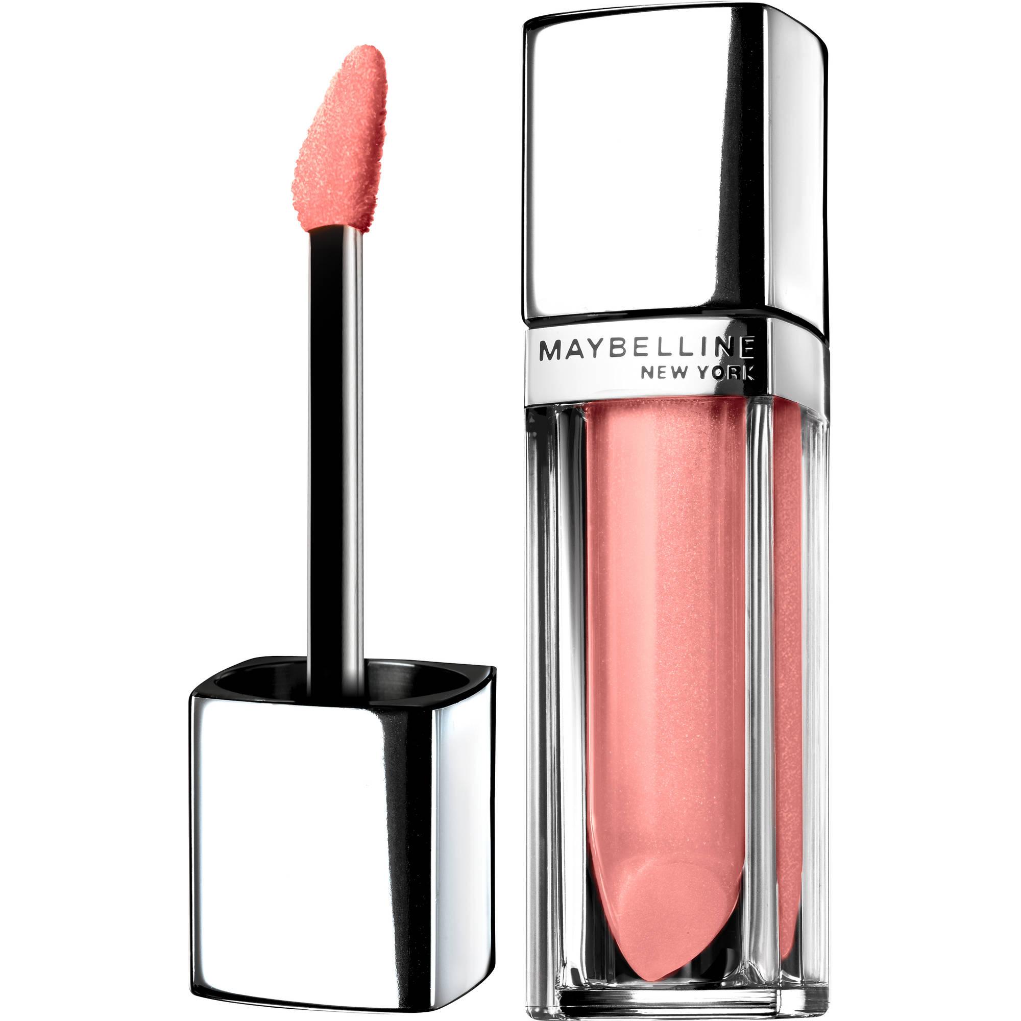 Maybelline New York Color Sensational Color Elixir Lip Laqucer, Blushing Petal