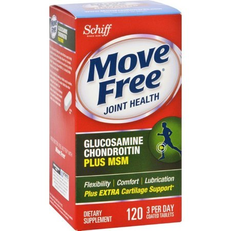 Schiff Move Free Total Joint Health - 1500 Mg - 120 Coated Tablets (Total Joint Care)