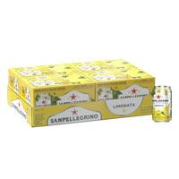 Sanpellegrino Lemon Italian Sparkling Drinks, 11.15 fl oz. Cans (24 Count)