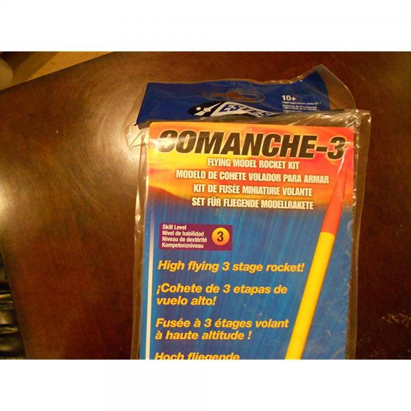 Estes Comanche-3 Flying Model Rocket Kit by