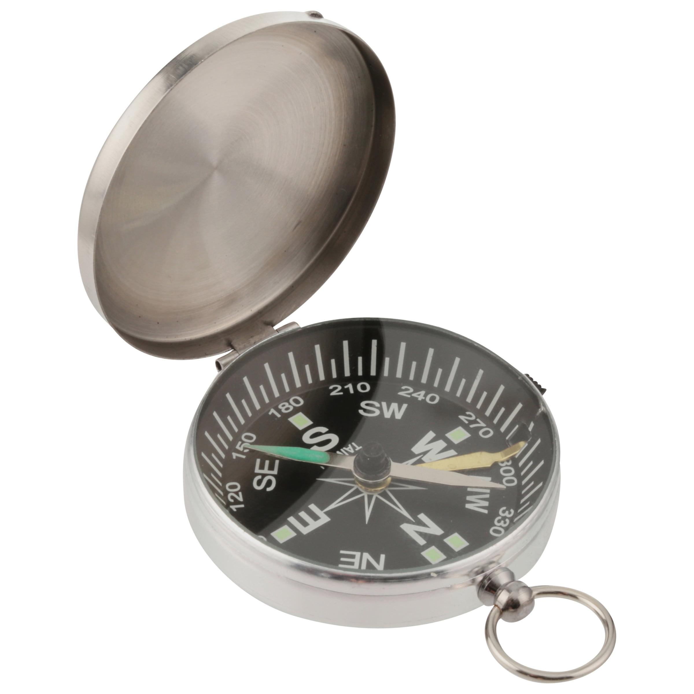 Coghlans Magnetic Pocket Metal Case Compass by Coghlan's Ltd.