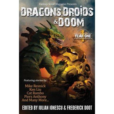 Dragons, Droids & Doom: Year One: Fantasy Scroll Magazine by