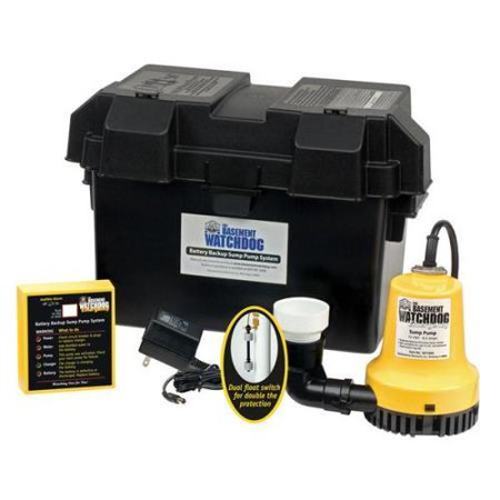 No.BWE The Basement Watchdog Emergency Backup Sump Pump -