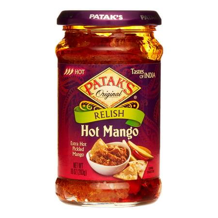 Patak Mango Relish - (2 Pack) Patak's Mango Relish, Hot, 10 Oz