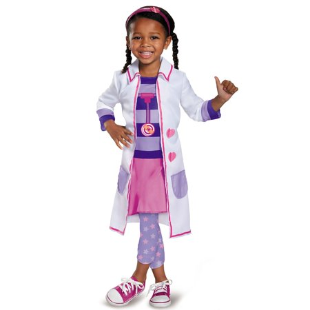 Doc McStuffins Toy Hospital Classic Costume for Toddler