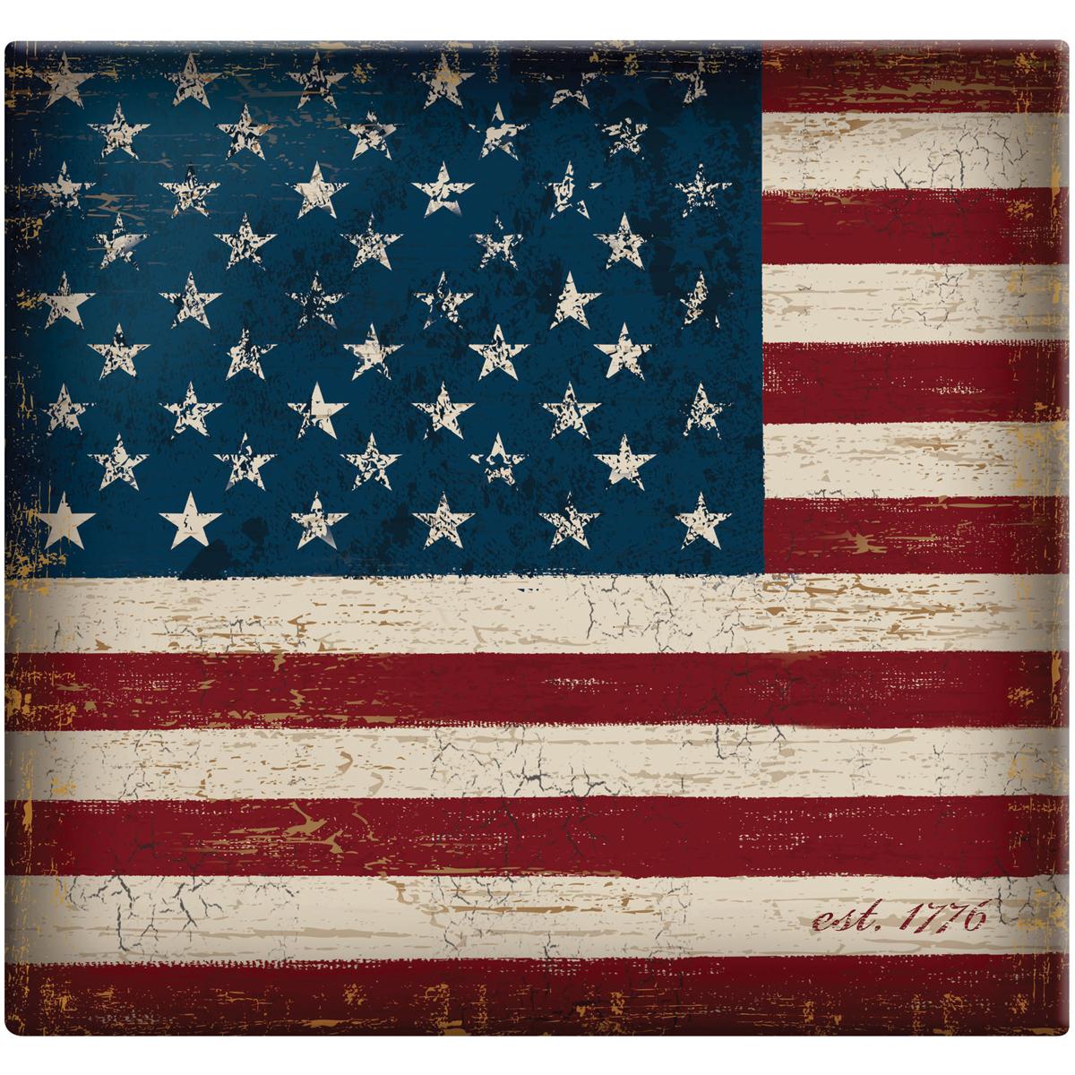 "MBI Vintage Flag Post Bound Album 12""X12""-Large Flag"