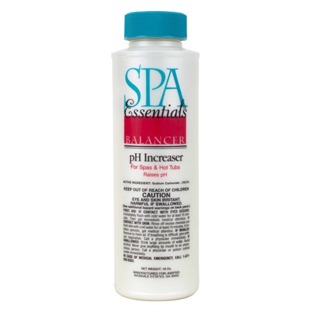 Spa Down Ph Reducer - Spa Essentials pH Increaser Granules for Spas and Hot Tubs, 18-Ounces