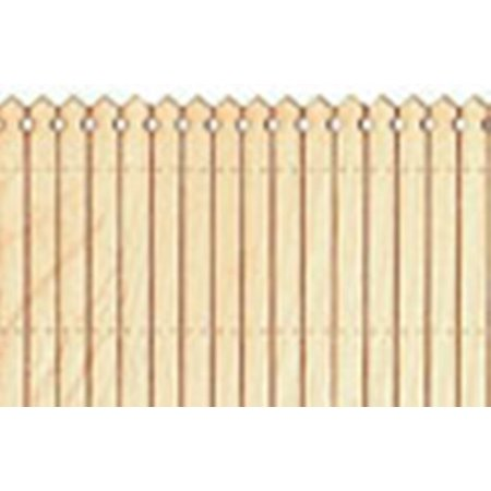 Reality In Scale 1 32 1 35 Laser Cut European Wooden Fence  Pl3 001
