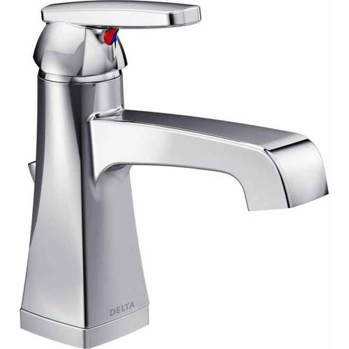 Delta Ashlyn Deck Mounted Single Hole Lavatory Faucet, Available in Various Colors