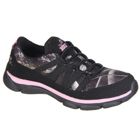- Authentic REALTREE Camo Women's Stella Slip-On Design Athletic Shoes Pink 6