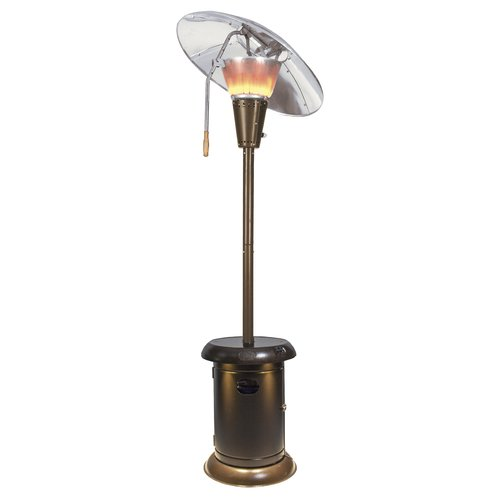 Beau Mirage Heat Focus 38,200 BTU Propane Patio Heater With Speaker And Lights