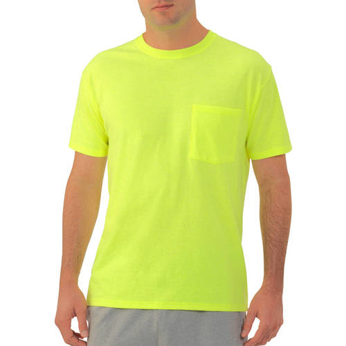 Fruit of the Loom Men's Short Sleeve Pocket T-Shirt
