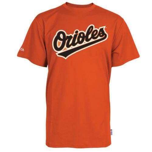 Baltimore Orioles Replica Baseball T-shirt 100% Cool Mesh Fabric - Youth