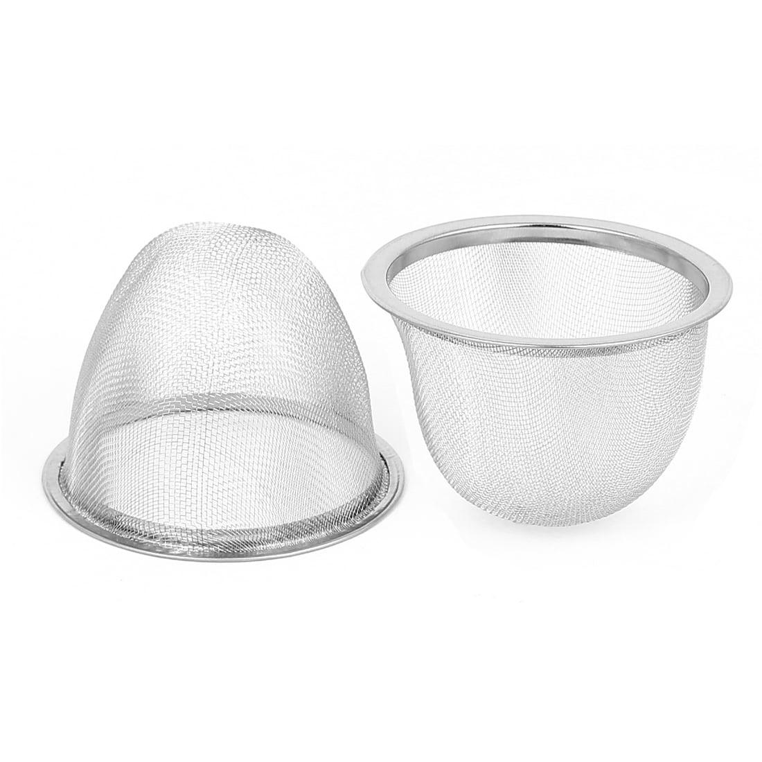 "2.8"" Dia Metal Mesh Strainer Loose Leaf Tea Teapot Filter Infuser 2 Pcs by"