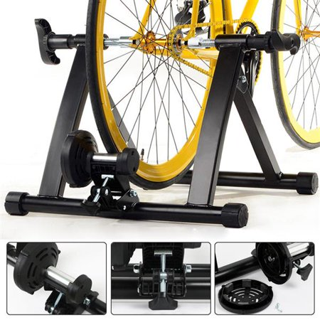 Indoor Exercise Bike Trainer Stand Resistance Stationary Bike