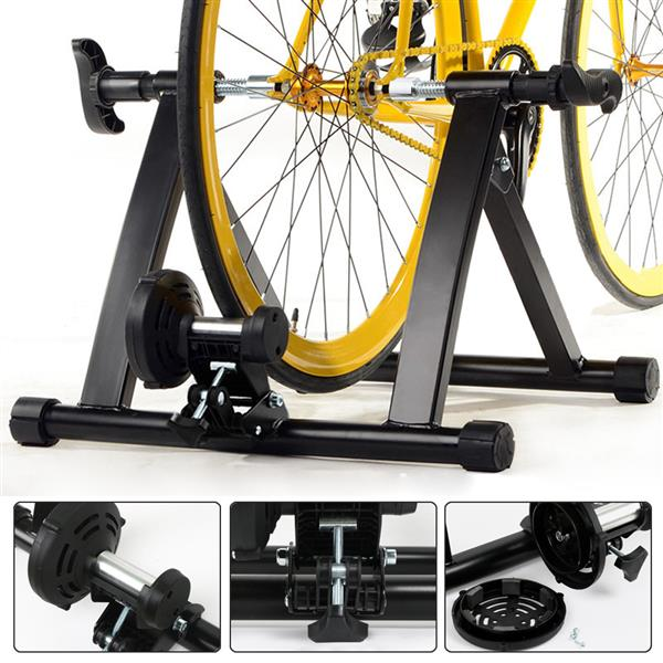 Indoor Exercise Bike Trainer Stand Resistance Stationary Bike Stand