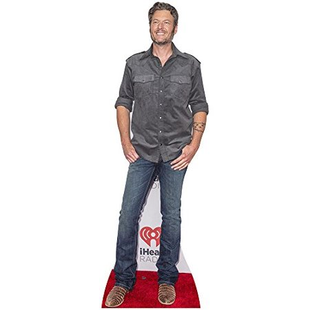 Stand Up Cutouts (Star Cutouts SC2059 Blake Shelton Cardboard Cutout)