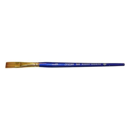 Blue Microban Handle - Robert Simmons Sapphire Brush, Shader, Short Handle, 12