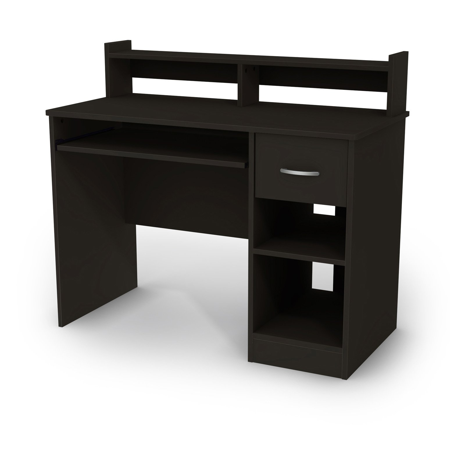 South Shore Axess Collection Work Desk Pure Black by South Shore Industries Ltd