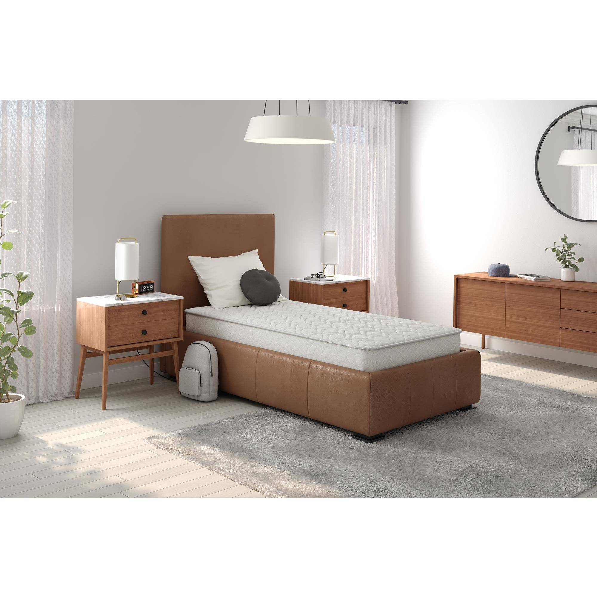 "Signature Sleep Gold CertiPUR-US Triumph 8"" Independently Encased Coil Mattress, Multiple Sizes"