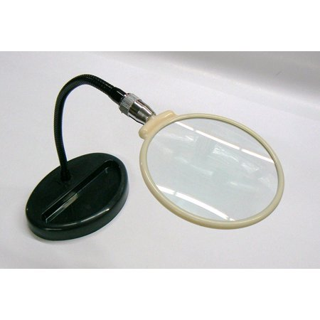 Standing Magnifier (MAGNIFIER STANDING 2X FLEXIBLE NECK ON BASE 4-1/2