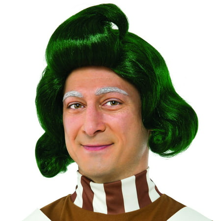 Willy Wonka & the Chocolate Factory: Oompa Loompa Adult Wig - Willy Wonka Oompa Loompa Costumes