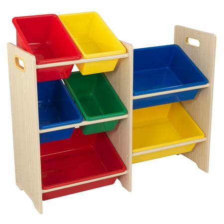 Box Primary (KidKraft 7 Bin Storage Unit - Primary &)
