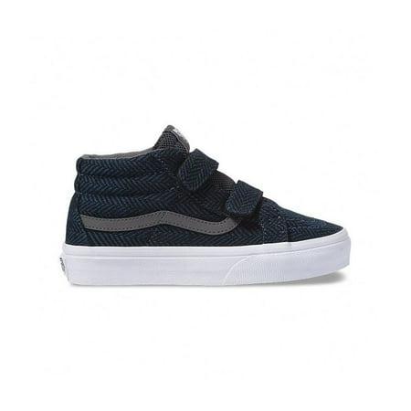 Vans Sk8-Mid Reissue V Kids' Dark Denim/Pewter Skate Shoes 12.5M