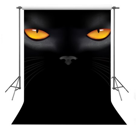 HelloDecor Polyster Halloween Theme Photo Background 5x7ft The Eyes in The Darkness Photography Backdrop Studio Props](Cute Halloween Themed Backgrounds)