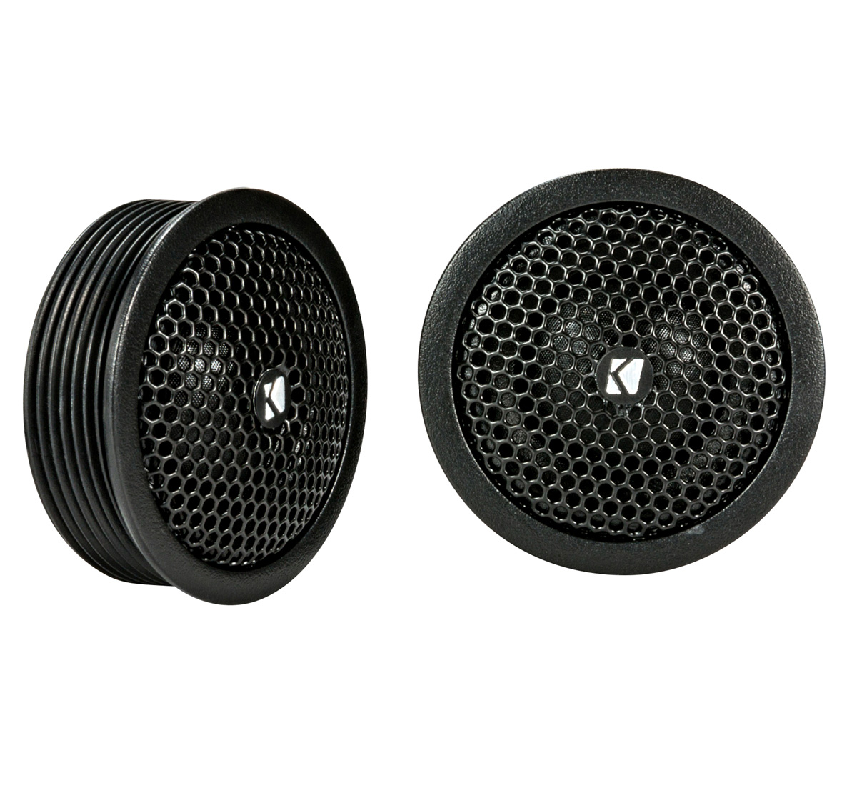 "KICKER 44KST2004 .75""(20mm) tweeters w/x-overs, 4ohm, RoHS Compliant"