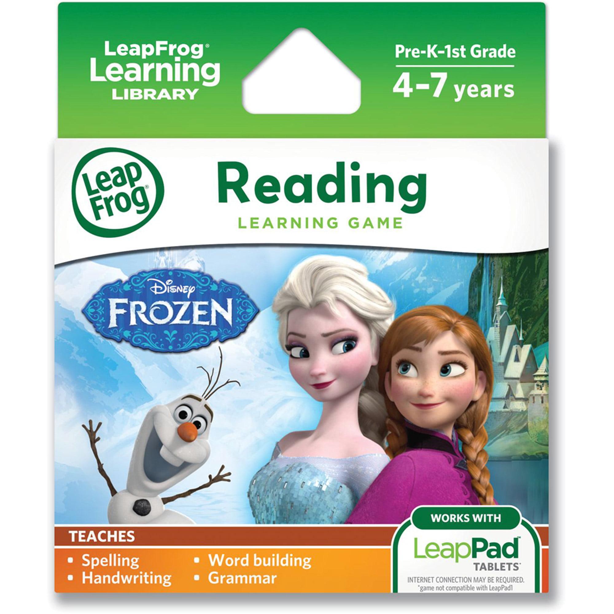 LeapFrog Disney Frozen Learning Game (for LeapPad Tablets) by LeapFrog