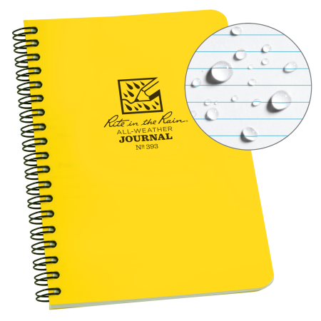 Rite in the Rain Weatherproof Side Spiral Notebook, 4.625