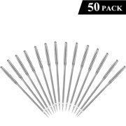 Sewing Machine Needles, 50 Count, Universal Regular Point for Singers