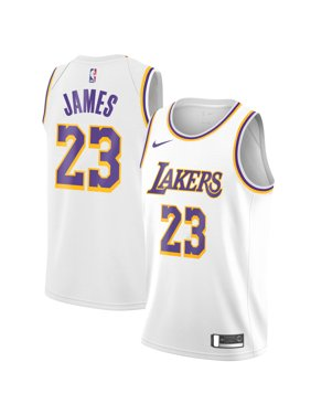 c9ab448f9b6 Product Image LeBron James Los Angeles Lakers Nike Swingman Jersey White -  Association Edition