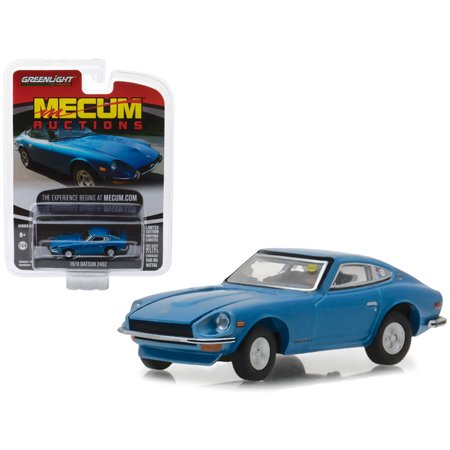 1979 Datsun 280zx - 1970 Datsun 240Z Blue (Seattle 2014) Mecum Auctions Collector Series 2 1/64 Diecast Model Car by Greenlight