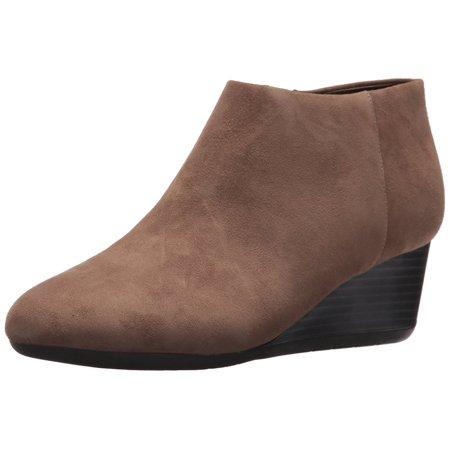 Easy Spirit Womens Leinee Leather Closed Toe Ankle Fashion Boots - Leather Fashion Ankle Boots