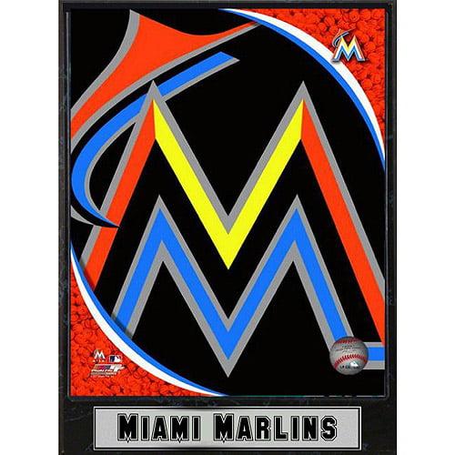 MLB Miami Marlins Photo Plaque, 9x12