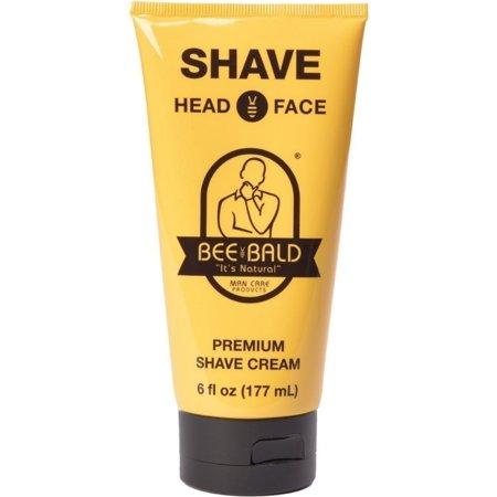 Bald Bull - 2 Pack - Bee Bald Shave Premium Shave Cream 6 oz