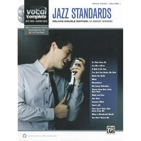 Jazz Standards: Male Voice, Volume 1