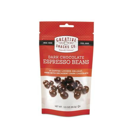 CREATIVE DARK CHOCOLATE ESPRESSO BEANS, 3.5 - Espresso Dark Chocolate